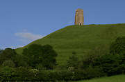 A view of Glastonbury Tor, UK 2005