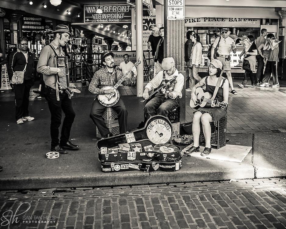 Scene from Pike Place Market - Seattle, WA