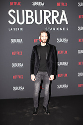 Jacopo Venturiero at the Red Carpet of the series Suburra 2 at Circolo Degli Illuminati in Rome, Italy, 20 February 2019  (Credit Image: © Lucia Casone/Soevermedia via ZUMA Press)