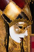 Carnival mask, Venice, Veneto, Italy