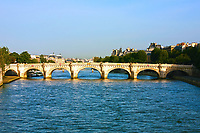 Beautiful Pont Neuf Bridge in Paris France