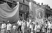 Bentley Branch banner. NUM Centenary Demonstration and Gala, Barnsley.