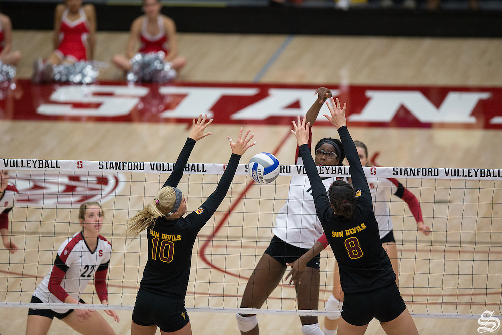 Inky Ajanaku (12), Women's volleyball v. ASU