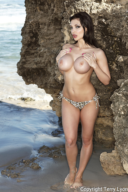 Aletta Ocean world famous magazine and movie star from Budapest beach and studio shoot