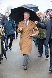ASCOT- UK - 29-MAR-2015: The Prince of Wales, Patron, The Prince's Countryside Fund, and The Duchess of Cornwall, will meet race-goers and supporters of the Fund and will watch the Waitrose Novices' Handicap Steeple Chase, Ascot Racecourse,<br /> Photograph by Ian Jones