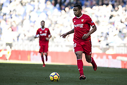 January 20, 2018 - Barcelona, Spain - BARCELONA, SPAIN - JANUARY 20: 20 L. Muriel of Sevilla FC during La Liga match between RCD Espanyol v Sevilla FC at RCD Stadium in Barcelona on 20 of January, 2018. (Credit Image: © Xavier Bonilla/NurPhoto via ZUMA Press)