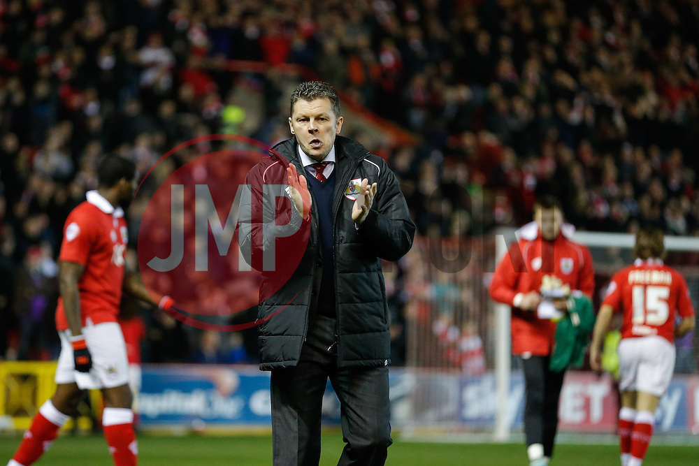Bristol City Manager Steve Cotterill - Photo mandatory by-line: Rogan Thomson/JMP - 07966 386802 - 17/03/2015 - SPORT - FOOTBALL - Bristol, England - Ashton Gate Stadium - Bristol City v Crewe Alexandra - Sky Bet League 1.