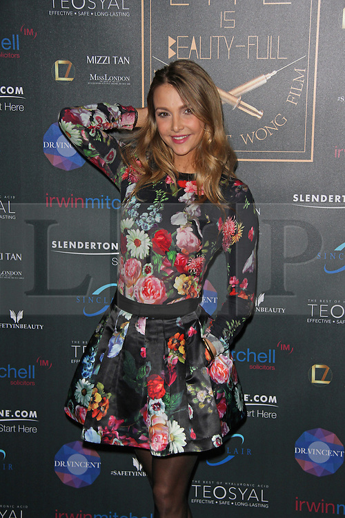 © Licensed to London News Pictures. 28/01/2015, UK. Dr Sophie Hermann, Life Is Beauty-Full - UK Film Premiere, Bulgari Hotel, London UK, 28 January 2015,. Photo credit : Brett D. Cove/Piqtured/LNP