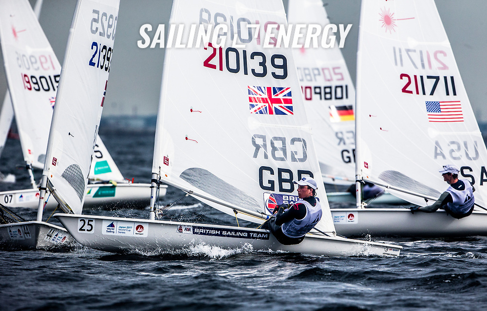 The opening event of Sailing's 2017-18 World Cup Series is in Gamagori, Japan. Held from 15-22 October 2017, more than 250 sailors from 39 nations will race in eight Olympic sailing events. Photo © Jesús Renedo/Sailing Energy/ World Sailing