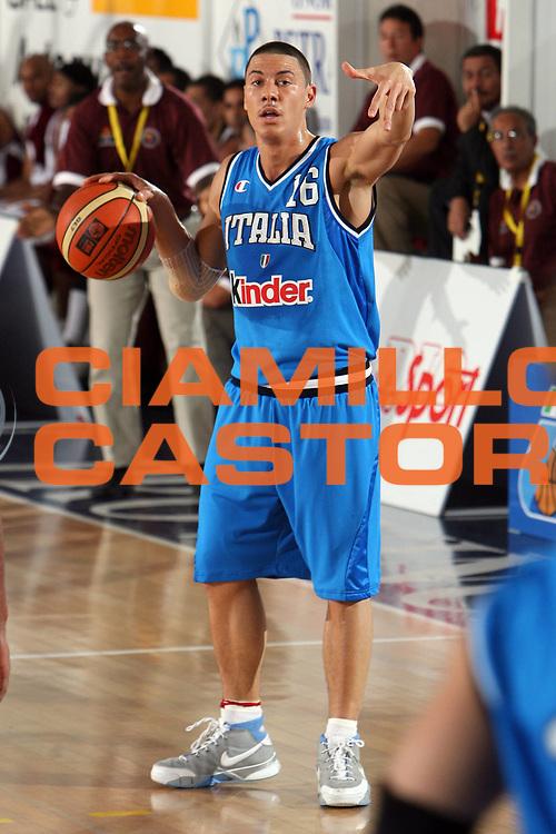 DESCRIZIONE : Rieti Torneo Internazionale Lazio 2006<br /> GIOCATORE : Di Bella<br /> SQUADRA : Italia<br /> EVENTO : Rieti Torneo Internazionale Lazio 2006<br /> GARA : Italia Venezuela<br /> DATA : 20/06/2006 <br /> CATEGORIA : Palleggio<br /> SPORT : Pallacanestro <br /> AUTORE : Agenzia Ciamillo-Castoria/E.Castoria<br /> Galleria : FIP Nazionale Italiana<br /> Fotonotizia : Rieti Torneo Internazionale Lazio 2006<br /> Predefinita :