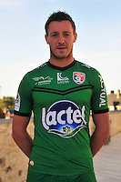 Maxime Hautbois - 28.09.2015 - Photo officielle - Laval - Ligue 2<br /> Photo : Philippe Le Brech / Icon Sport