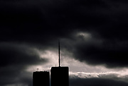 World Trade Center Mood, New York City, New York, USA, November 1983
