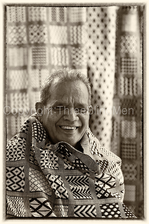 Somawansa, Master Weaver from Uda Dumbara.