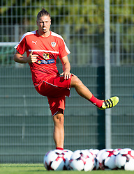 30.08.2016, Ernst Happel Stadion, Wien, AUT, FIFA WM Qualifikation, Georgien vs Oesterreich, Gruppe D, Training Oesterreich, im Bild  Sebastian Proedl // during a training session of Team Austria (AUT) in front of the FIFA World Cup Qualifier Match between Georgia and Austria at the Ernst Happel Stadion, Vienna, Austria on 2016/08/30. EXPA Pictures © 2016, PhotoCredit: EXPA/ Sebastian Pucher