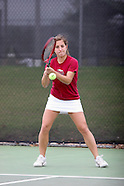 OC Women's Tennis vs Oklahoma Baptist - 4/5/2007