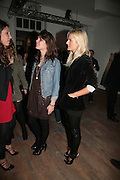 Charlotte Casiraghi  and Olympia Scarry, DAUGHTER OF PRINCESS CAROLINE Twenty Hoxton Square. Opening exhibition of new gallery at Twenty Hoxton Square. -DO NOT ARCHIVE-© Copyright Photograph by Dafydd Jones. 248 Clapham Rd. London SW9 0PZ. Tel 0207 820 0771. www.dafjones.com.
