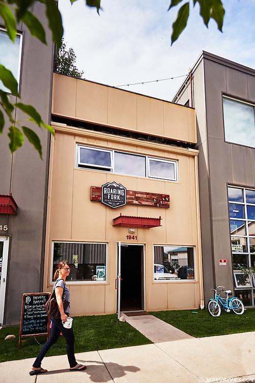 Roaring Fork Beer Company in Carbondale, Colorado.
