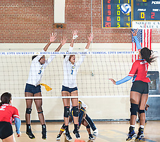 2017 A&T Volleyball vs Delaware State