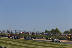 May 6, 2018 - Brands Hatch, Grande Bretagne - 2 BELGIAN AUDI CLUB TEAM WRT (BEL) AUDI R8 LMS DRIES VANTHOOR (BEl) WILL STEVENS (GBR) START OF THE RACE (Credit Image: © Panoramic via ZUMA Press)