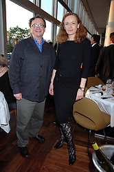 SEBASTIAN CONRAN and GERTRUDE THOME at a dinner hosted by Vogue in honour of Antony Gormley held at the new Skylon restaurant at the refurbished Royal Festival Hall, South Bank, London on 22nd May 2007.<br /><br />NON EXCLUSIVE - WORLD RIGHTS