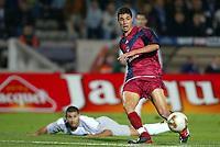 Fotball<br /> UEFA Cup 2003/2004<br /> 06.11.2003<br /> Bordeaux v Hearts<br /> Foto: Digitalsport<br /> Norway Only<br /> <br /> MAROUANE CHAMAKH (BOR)<br /> PHOTO LAURENT BAHEUX