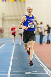 USATF Masters Indoor Championship, men's mile, 70-79 age-group race,
