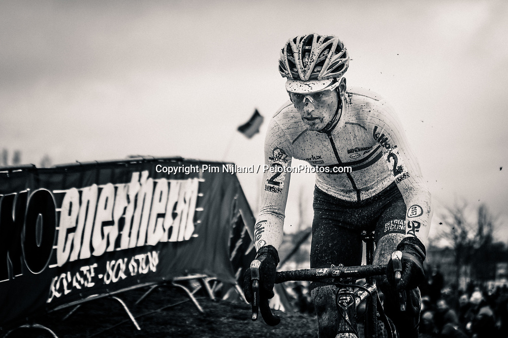 Kevin PAUWELS of BEL during the Men Elite race, UCI Cyclo-cross World Championship at Bieles, Luxembourg, 29 January 2017. Photo by Pim Nijland / PelotonPhotos.com | All photos usage must carry mandatory copyright credit (Peloton Photos | Pim Nijland)