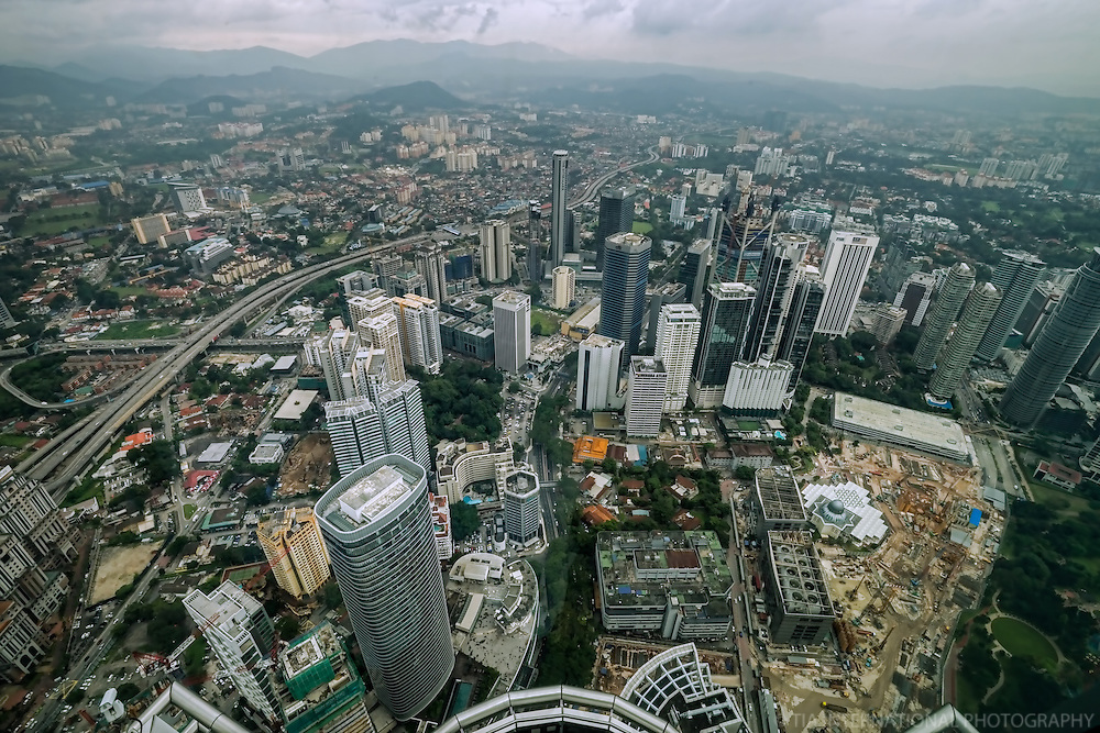 KL from the Top of Petronas