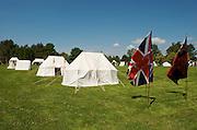 The Battle of Crysler's Farm.  British encampment