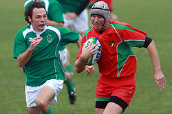 Rugby match between National team of Slovenia (green) and Hungary (red) at European Championship of B group 3rd division, on September 13, 2008, in Stanezice, Ljubljana, Slovenia. (Photo by Vid Ponikvar / Sportal Images)