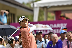 October 26, 2017 - Kuala Lumpur, Malaysia - Lydia Ko of New Zealand during day one of the Sime Darby LPGA Malaysia at TPC Kuala Lumpur on October 26, 2017 in Kuala Lumpur, Malaysia  (Credit Image: © Chris Jung/NurPhoto via ZUMA Press)
