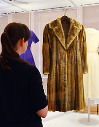 Fashion Rules, major new exhibition of Royal clothing.<br /> Dress from the collections of HM The Queen, Princess Margaret and Diana, Princess of Wales.  Major new exhibition focusing on 20th century Royal clothing. Sponsored by Estee Lauder Companies. Exhibition opens tomorrow.<br /> -Worn by Princess Margaret.  Fur coat.  Designed for Christian Dior, c. 1960s, Kensington Palace, <br /> London, United Kingdom<br /> Wednesday, 3rd July 2013<br /> Picture by Nils Jorgensen / i-Images