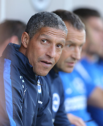 Brighton Manager, Chris Hughton - Mandatory by-line: Paul Terry/JMP - 22/07/2015 - SPORT - FOOTBALL - Crawley,England - Broadfield Stadium - Crawley Town v Brighton and Hove Albion - Pre-Season Friendly