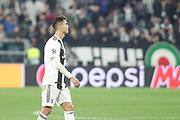 Cristiano Ronaldo of Juventus during the Champions League match between Juventus FC and Ajax at Juventus Stadium, Turin, Italy on 16 April 2019.