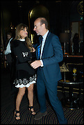 ERIC FELLNER; JEMIMA KHAN, Party to celebrate Vanity Fair's very British Hollywood issue. Hosted by Vanity Fair and Working Title. Beaufort Bar, Savoy Hotel. London. 6 Feb 2015