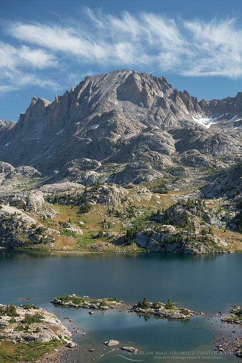 Island Lake and Fremont Peak, Bridger Wilderness, Wind River Range Wyoming