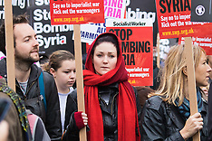 2015-12-12 Stop The War Coalition holds National demo against Syria bombing