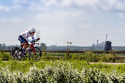 DOWSETT Alex from GREAT BRITAIN during Men Elite Time Trial at 2019 UEC European Road Championships, Alkmaar, The Netherlands, 8 August 2019. <br /> <br /> Photo by Thomas van Bracht / PelotonPhotos.com <br /> <br /> All photos usage must carry mandatory copyright credit (Peloton Photos | Thomas van Bracht)