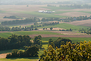 Blick von der Feste Otzberg, Odenwald, Naturpark Bergstraße-Odenwald, Hessen, Deutschland   view of Otzberg castle, Odenwald, Hesse, Germany