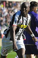 "Momo Sissoko (Juventus) celebrates scoring <br /> <br /> TORINO 02-03-2008 Stadio ""Olimpico""<br /> <br /> Campionato Italiano Serie A<br /> <br /> JUVENTUS-FIORENTINA 2-3 <br /> <br /> Foto Massimo Insabato/Insidefoto"