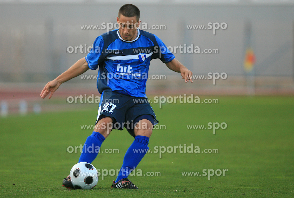 Goran Cvijanovic of Gorica during 2nd match of 1st round Intertoto Cup soccer match between ND Gorica and Hibernians FC at Sports park, on June 28,2008, in Nova Gorica, Slovenia. (Photo by Vid Ponikvar / Sportal Images)