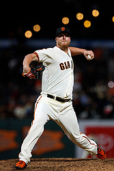 SAN FRANCISCO, CA - JUNE 12: Will Smith #13 of the San Francisco Giants pitches against the San Diego Padres during the ninth inning at Oracle Park on June 12, 2019 in San Francisco, California. The San Francisco Giants defeated the San Diego Padres 4-2. (Photo by Jason O. Watson/Getty Images) *** Local Caption *** Will Smith