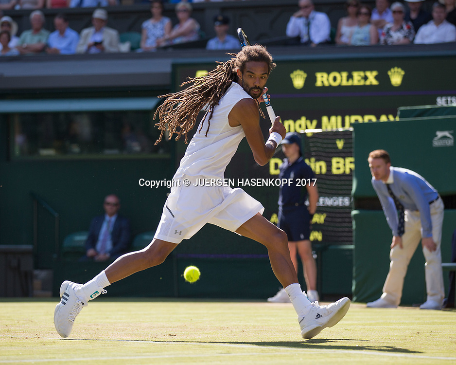 DUSTIN BROWN (GER)<br /> <br /> Tennis - Wimbledon 2016 - Grand Slam ITF / ATP / WTA -  AELTC - London -  - Great Britain  - 5 July 2017.
