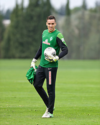 11.01.2014, Trainingsplatz, Jerez de la Frontera, ESP, 1. FBL, SV Werder Bremen, Trainingslager, im Bild Raphael Wolf (SV Werder Bremen #20) // Raphael Wolf (SV Werder Bremen #20) during Trainingsession of German Bundesliga Club SV Werder Bremen at Trainingsplatz in Jerez de la Frontera, Spain on 2014/01/11. EXPA Pictures © 2014, PhotoCredit: EXPA/ Andreas Gumz<br /> <br /> *****ATTENTION - OUT of GER*****