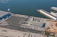 Aerial Image of empty Maryland Cruise passenger Terminal