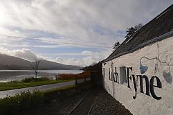 loch fyne; seafood; restaurant; scotland; original; building; fish