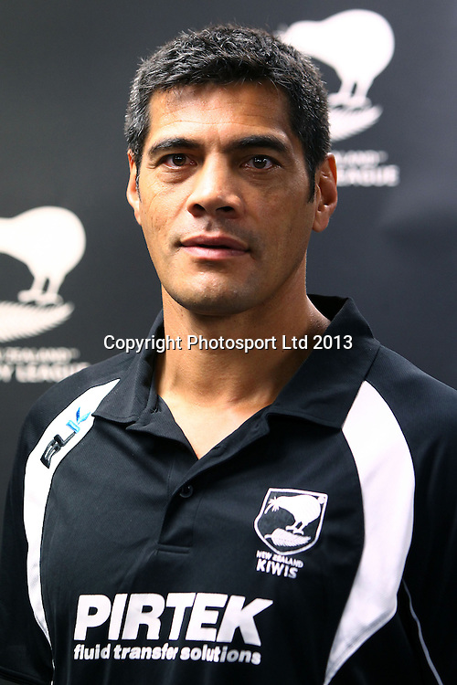 Coach Stephen Kearney, The New Zealand Rugby League announce their squad for the upcoming Rugby League World Cup. NZRL, Auckland. 8 October 2013. Photo: William Booth/www.photosport.co.nz