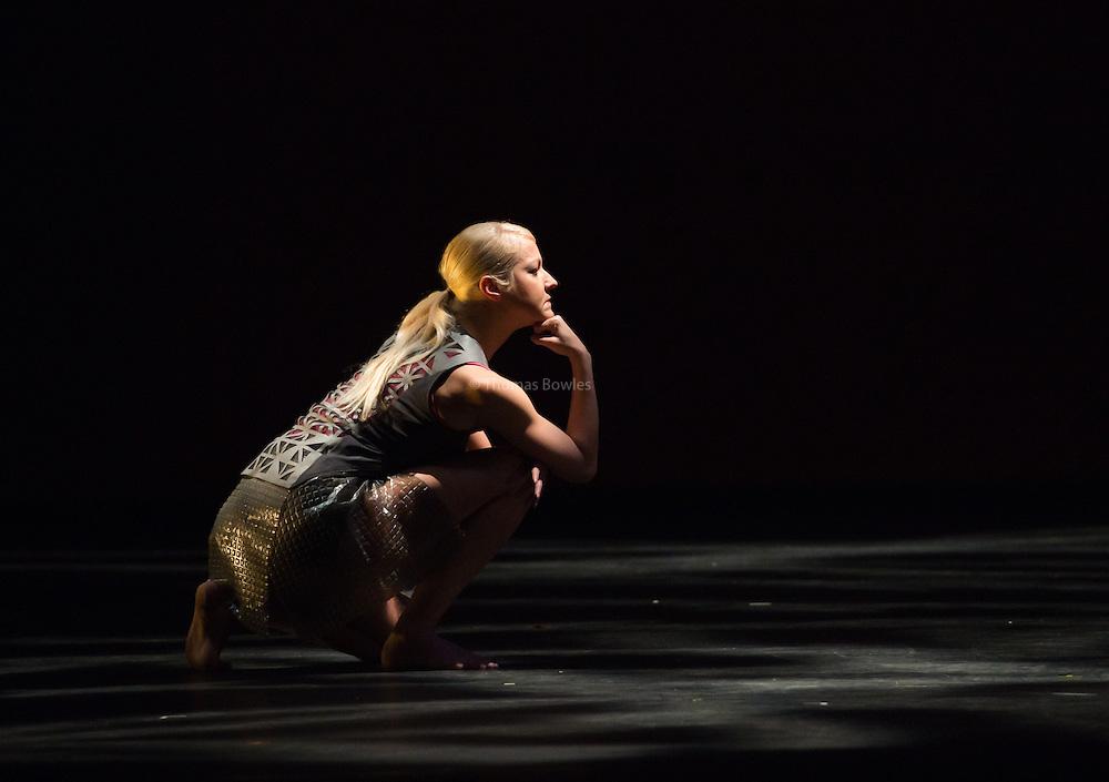 Extract from Bayadere - Shobana Jeyasingh Dance performed by Luke Crook, Nathan Goodman, Marta Greco, Andre Kamienski, Noora Kela Estela Merlos and Teerachai Thobumrung - Sadler's Wells, London, 2nd Feb 2017.