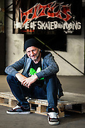 Portrait of Titus Dittmann - Founder of Titus Skateshops at Skaters Palace in Münster