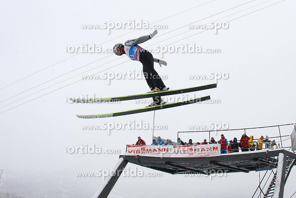 31.12.2011, Olympia Skisprungschanze, Garmisch Partenkirchen, GER, 60. Vierschanzentournee, FIS Ski Sprung Weltcup, Training, im Bild David ZAUNER (AUT) // David ZAUNER (AUT) during a practice session of 60th Four-Hills-Tournament FIS World Cup Ski Jumping at Olympia Skisprungschanze, Garmisch Partenkirchen, Germany on 2011/12/31. EXPA Pictures © 2011, PhotoCredit: EXPA/ Sven Kiesewetter